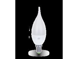 Светодиодная лампа ASD LED-СВЕЧА на ветру-standard 5 Вт 160-260В Е14 3000К 450Лм