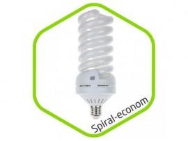 Энергосберегающая лампа ASD SPIRAL-econom 40Вт 220В Е40 6500К