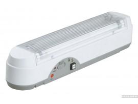 Светильник IEK ЛБА 3923a, аккумулятор, 3 ч., 2х8Вт, T5/G5
