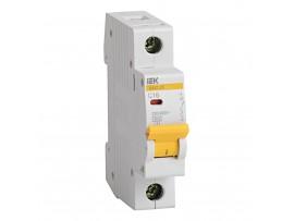 Автоматический выключатель IEK ВА47-29 1P 16А хар-ка С