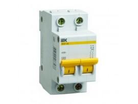 Автоматический выключатель IEK ВА47-29 2P 16А хар-ка С
