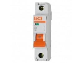 Автоматический выключатель TDM ВА47-29 1P 16А хар-ка С
