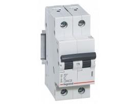 Автоматический выключатель Legrand RX3 4,5кА 16А 2П C 419697