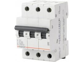 Автоматический выключатель Legrand RX3 4,5кА 25А 3П C